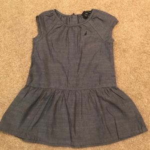 Nautica 18 month jean dress-great condition!
